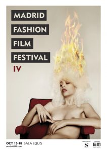 Cartel del Madrid Fashion Film Festival 2018