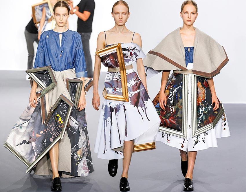 Diseños de la colección OI 2015 de Viktor & Rolf