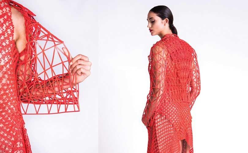 Colección de moda producida con impresión 3D