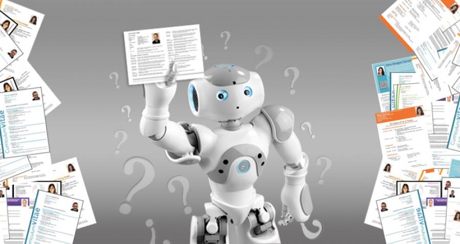 Robots en procesos de selección
