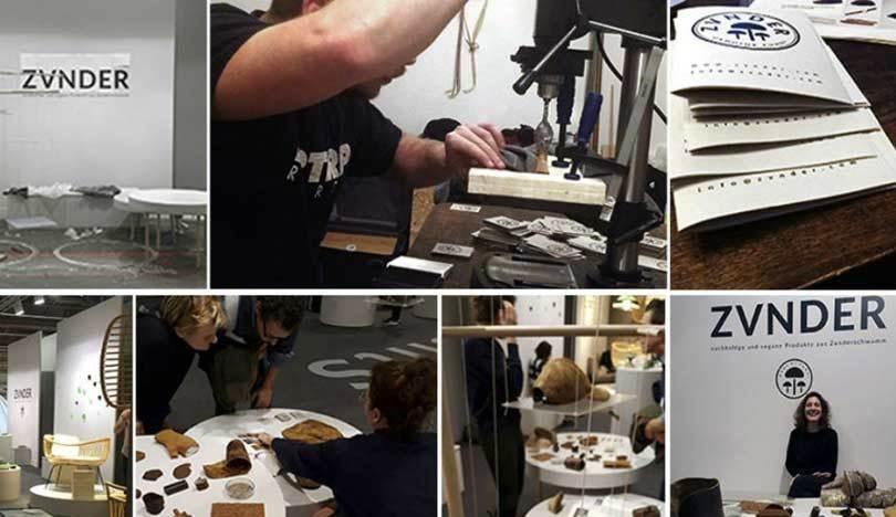 Proceso de fabricación de tejido sostenible de hongos