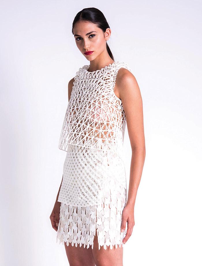 Vestido impreso en 3D