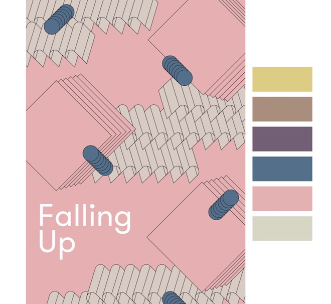 Colores gama Falling Up