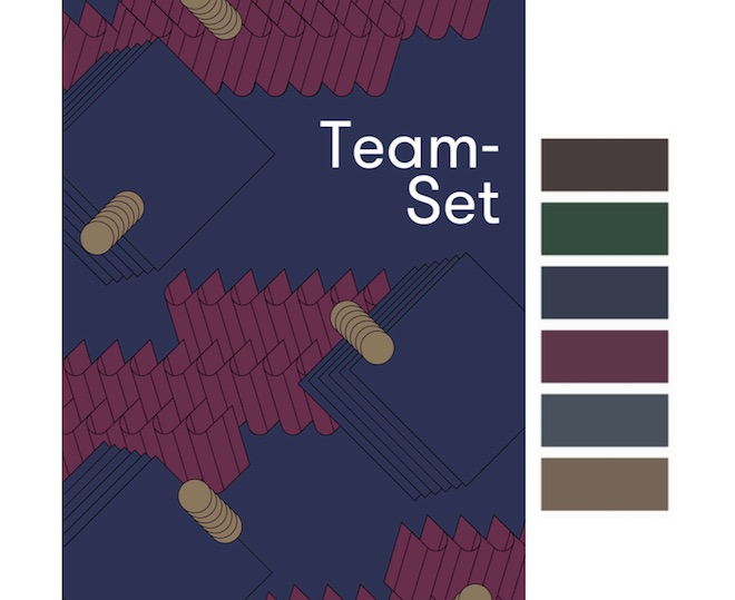 Colores gama Team-Set