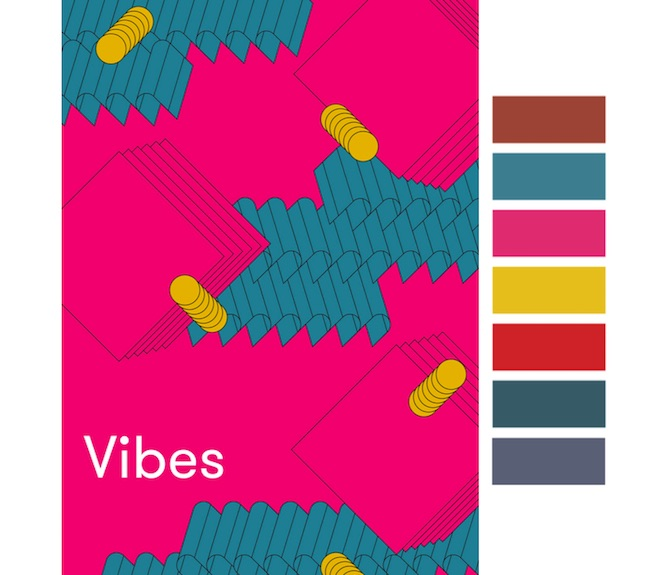 Colores gama Vibes