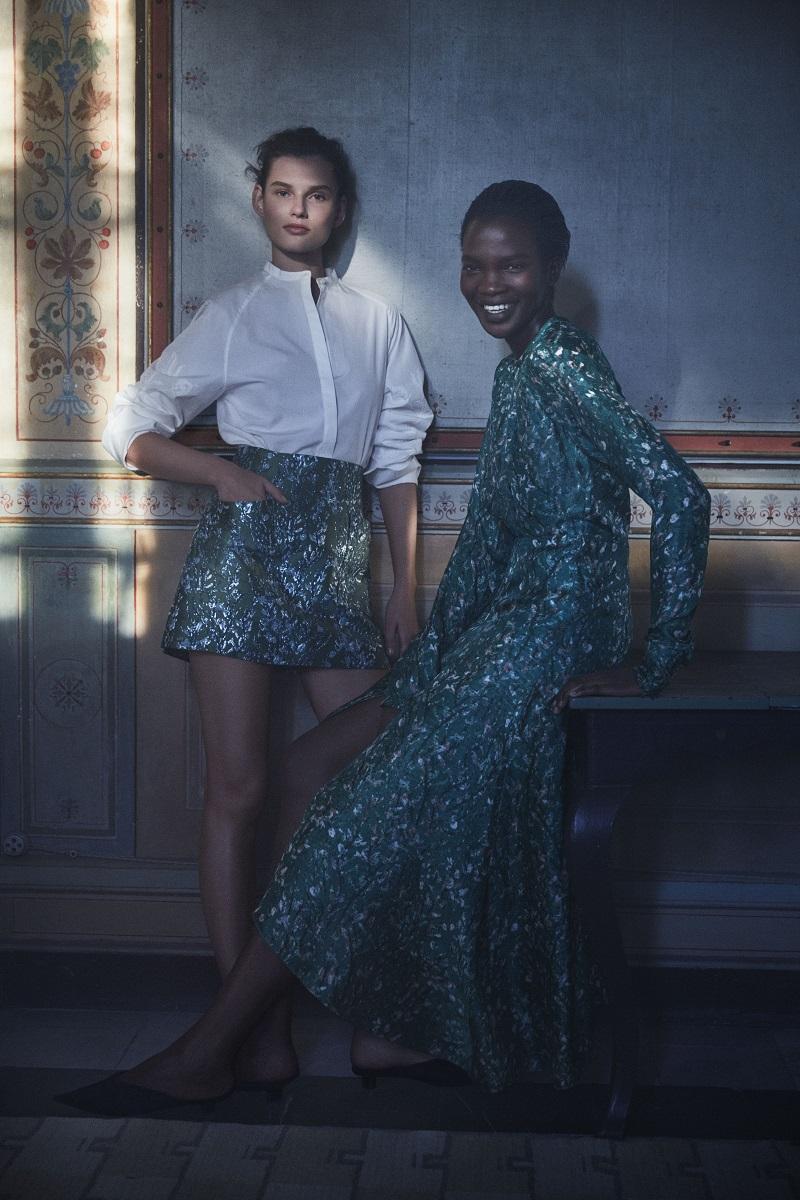Imagen de la campaña de moda sostenible H&M Conscious Exclusive Otoño/Invierno 2018