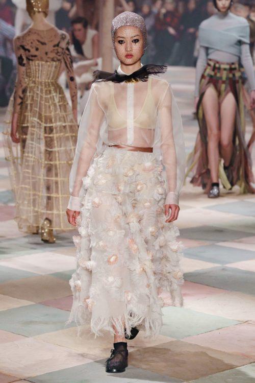 Imagen desfile Dior Alta Costura Primavera/Verano 2019