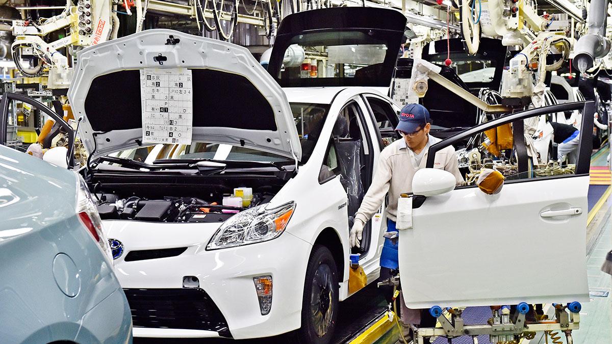 Fábrica de Toyota. @hbr.org