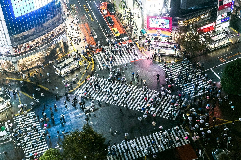Shibuya, Tokyo, @static1