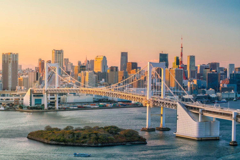 Tokyo Skyline. @travelandinspiration.com