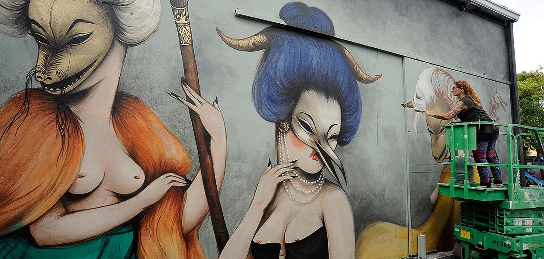graffiti grafitera miss van