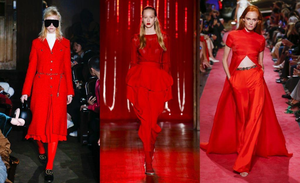 'El cuento de la criada' y el poder del color rojo @Gucci @Parlem Harding @Brandon Maxwell