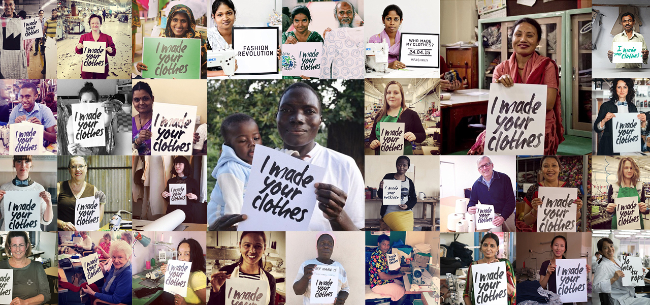 Who made your clothes campaign @fashionrevolution.org