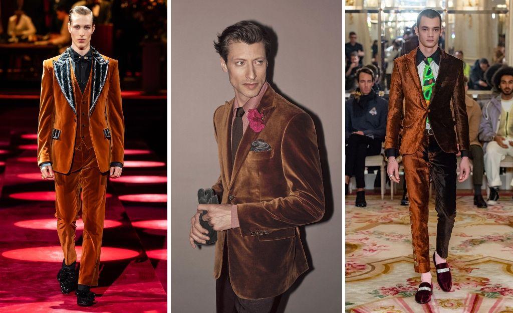 Velvet Suit: Tendencias Menswear FW19 @D&G @Brioni @SSS WorldCup