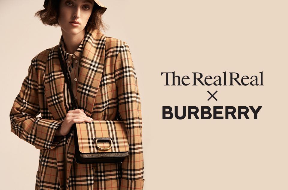 Burberry se alía con The Real Real para apoyar la moda sostenible @forbes