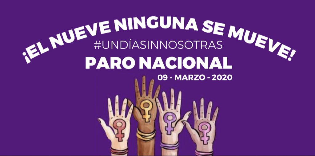 #9M en México, una breve historia del movimiento del Paro Nacional de Mujeres