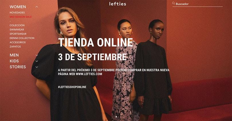 Lefties anuncia que tendrá canal de venta online el próximo tres de septiembre