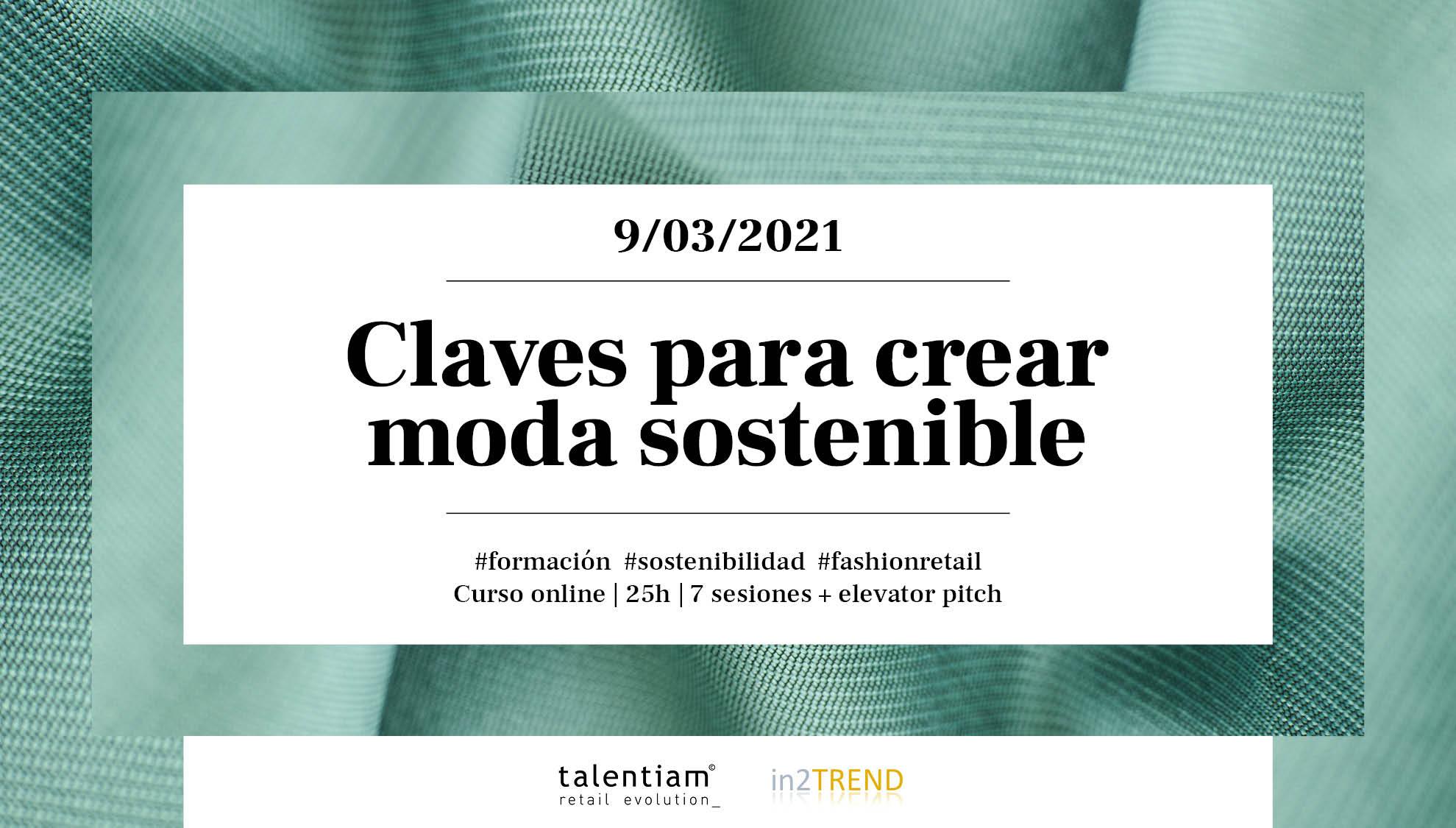 Claves para crear moda sostenible