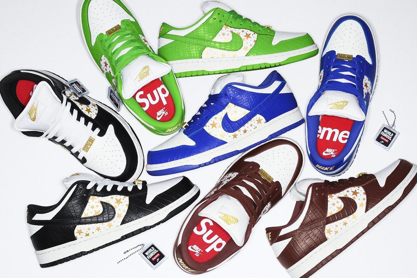 Cinco colaboraciones en forma de zapatillas que marcarán esta primavera 2021