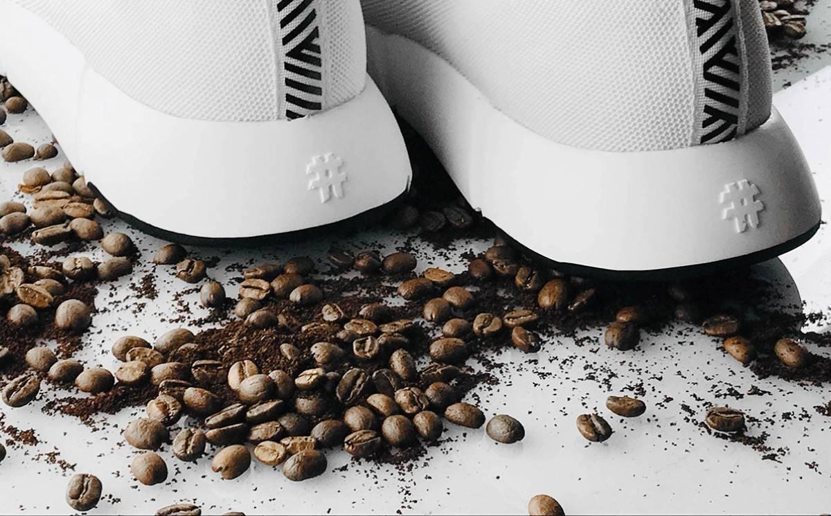 Posos de café: un recurso más para el diseño de zapatillas sostenibles